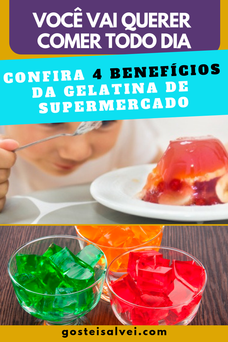 You are currently viewing Você vai querer comer todo dia – Confira 4 Benefícios da gelatina de supermercado