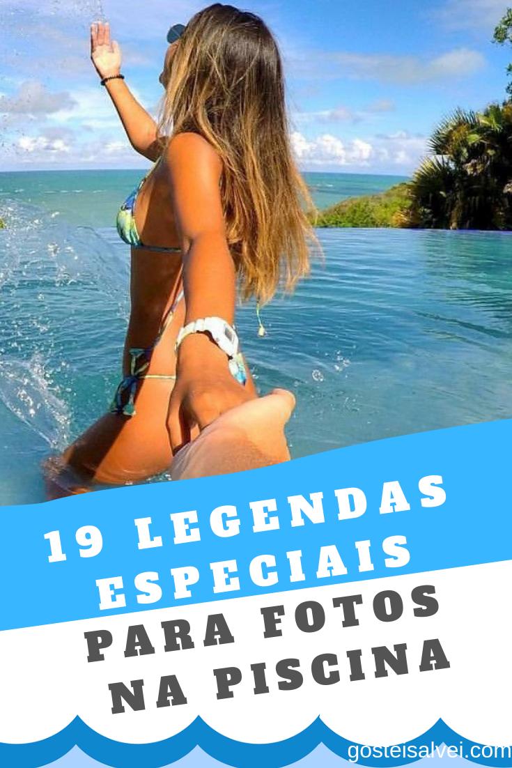 19 Legendas Divertidas Para Fotos Na Piscina