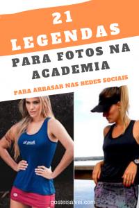 Read more about the article 21 Legendas Para Fotos Na Academia – Para Arrasar Nas Redes Sociais
