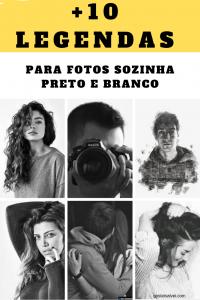 Read more about the article +10 Legendas Para Fotos Sozinha Preto e branco