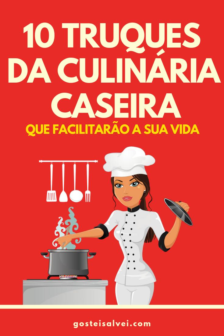You are currently viewing 10 Truques Da Culinária Caseira Que Facilitarão a Sua Vida