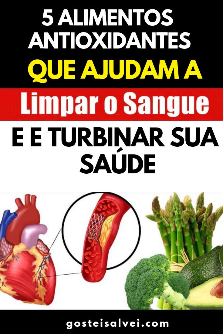 You are currently viewing 5 Alimentos Antioxidantes Que Ajudam a Limpar o Sangue e Turbinar Sua Saúde