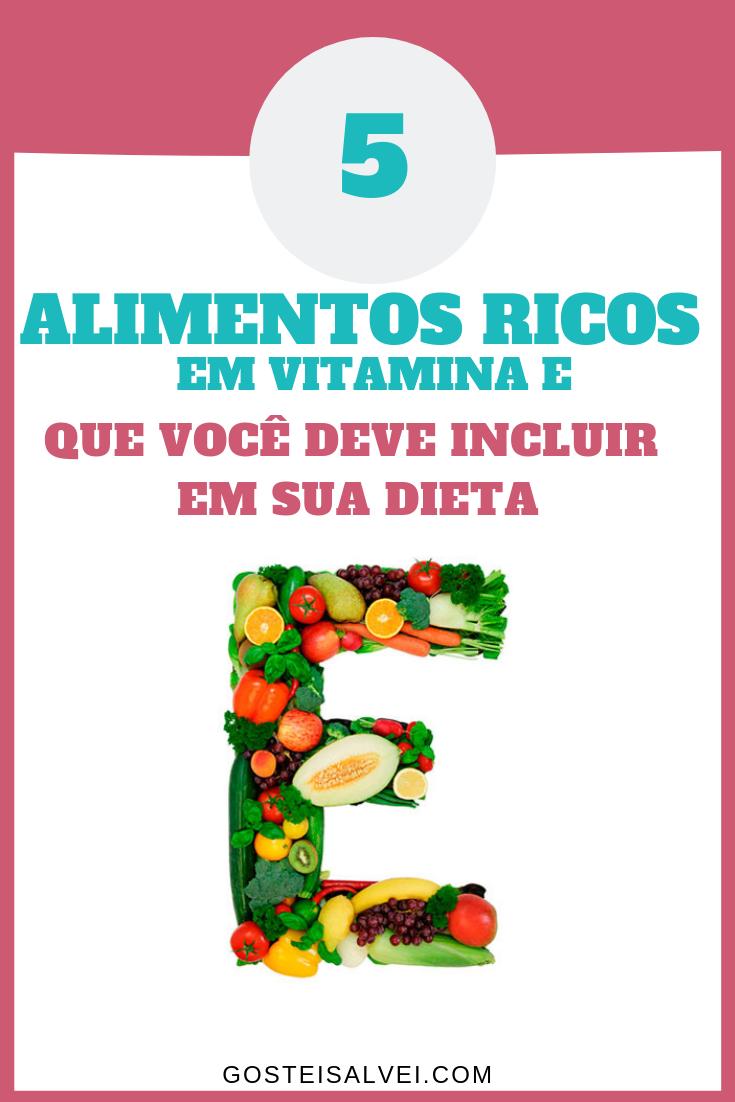 5 Alimentos Ricos Em Vitamina E Que Você Deve Incluir Em Sua Dieta