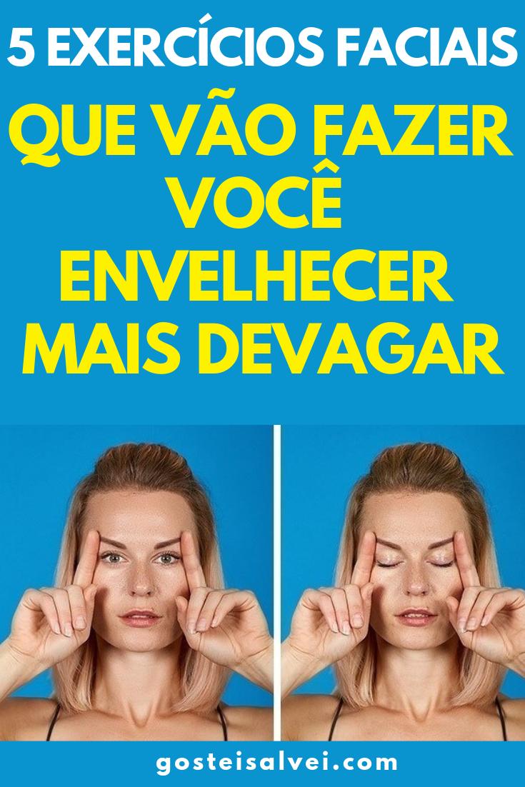 You are currently viewing 5 Exercícios Faciais Que Vão Fazer Você Envelhecer Mais Devagar