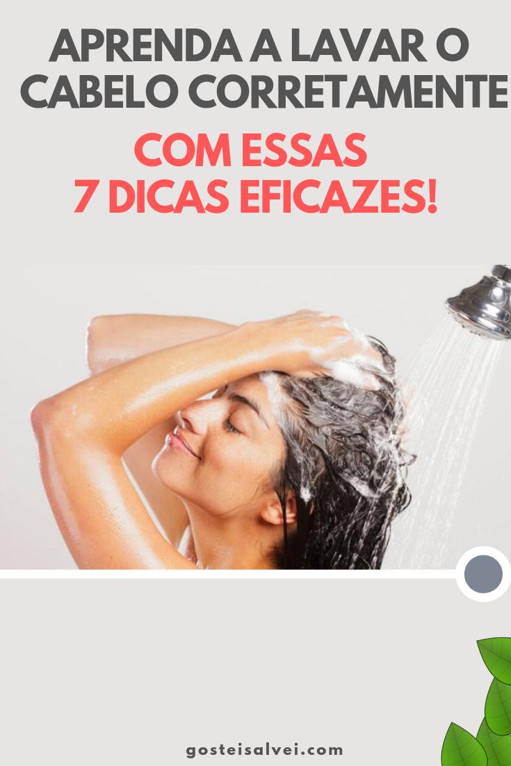 You are currently viewing Aprenda a Lavar o Cabelo Corretamente Com Essas 7 Dicas Eficazes!
