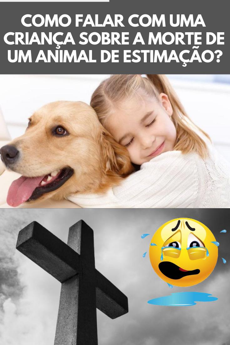 Como Falar Com Uma Criança Sobre a Morte De Um Animal De Estimação?