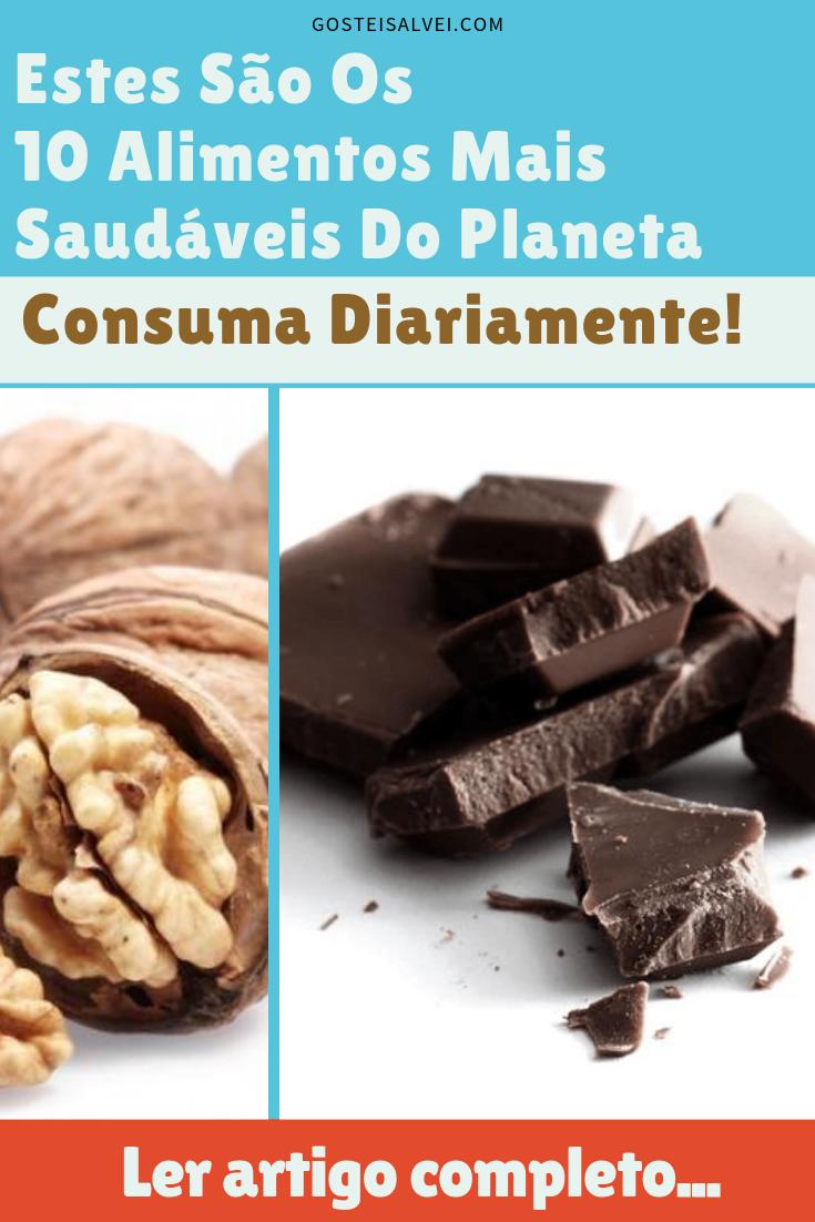 Estes São Os 10 Alimentos Mais Saudáveis Do Planeta. Consuma Diariamente!