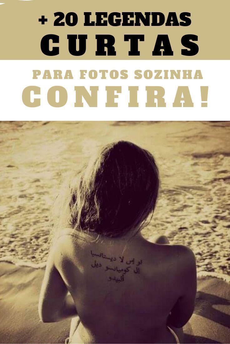 You are currently viewing + 20 Legendas Curtas Para Fotos Sozinha