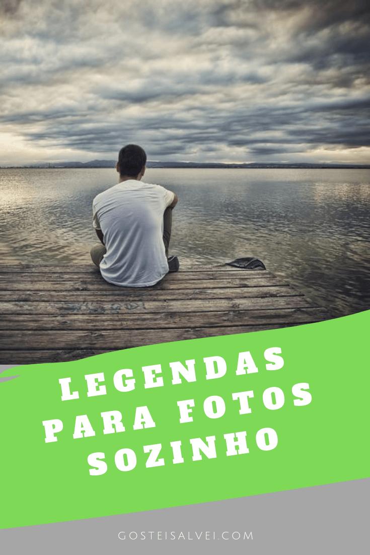 Legendas para foto sozinha