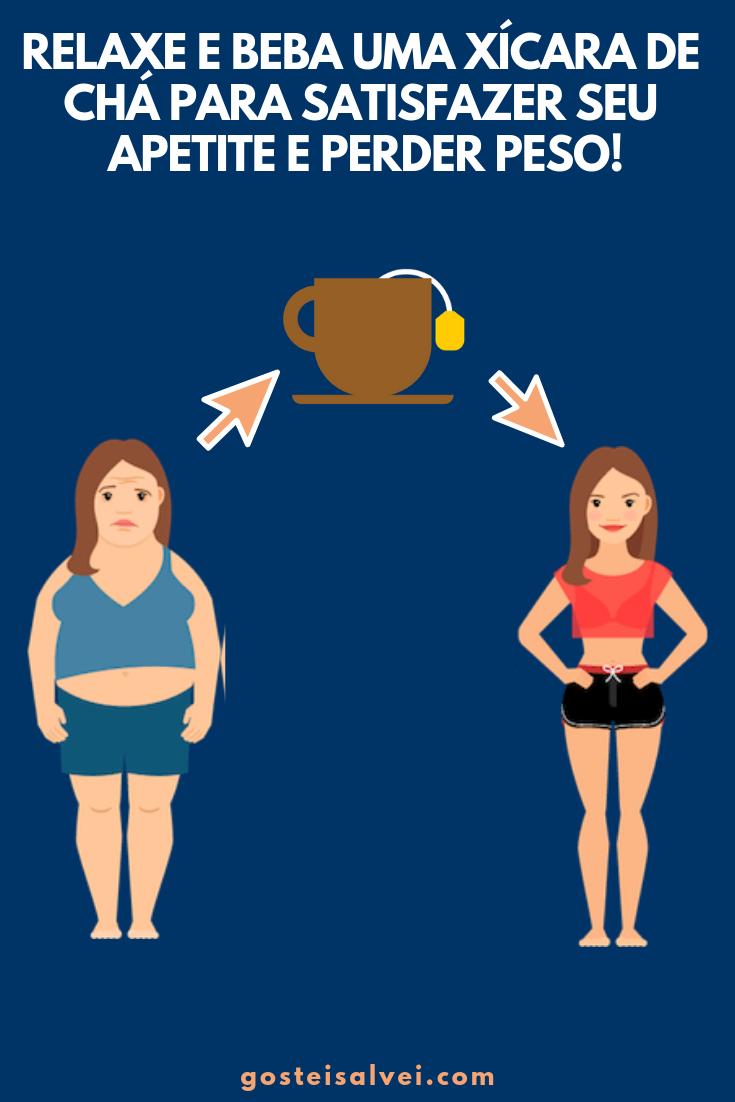 Relaxe e Beba Uma Xícara De Chá Para Satisfazer Seu Apetite e Perder Peso!