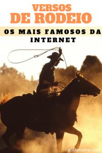 Read more about the article Versos De Rodeio – Os Mais Famosos Da Internet