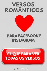 Read more about the article Versos Românticos Para Facebook e Instagram – Inéditos