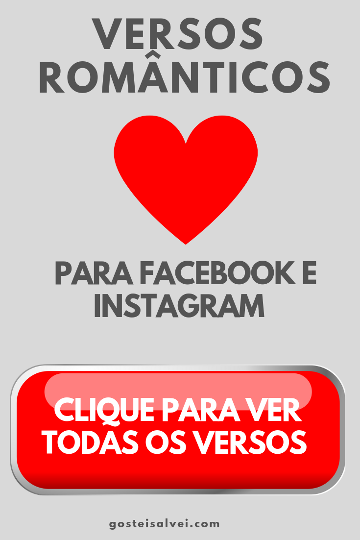 You are currently viewing Versos Românticos Para Facebook e Instagram – Inéditos