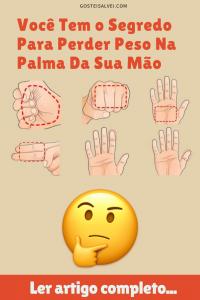 Read more about the article Você Tem o Segredo Para Perder Peso Na Palma Da Sua Mão