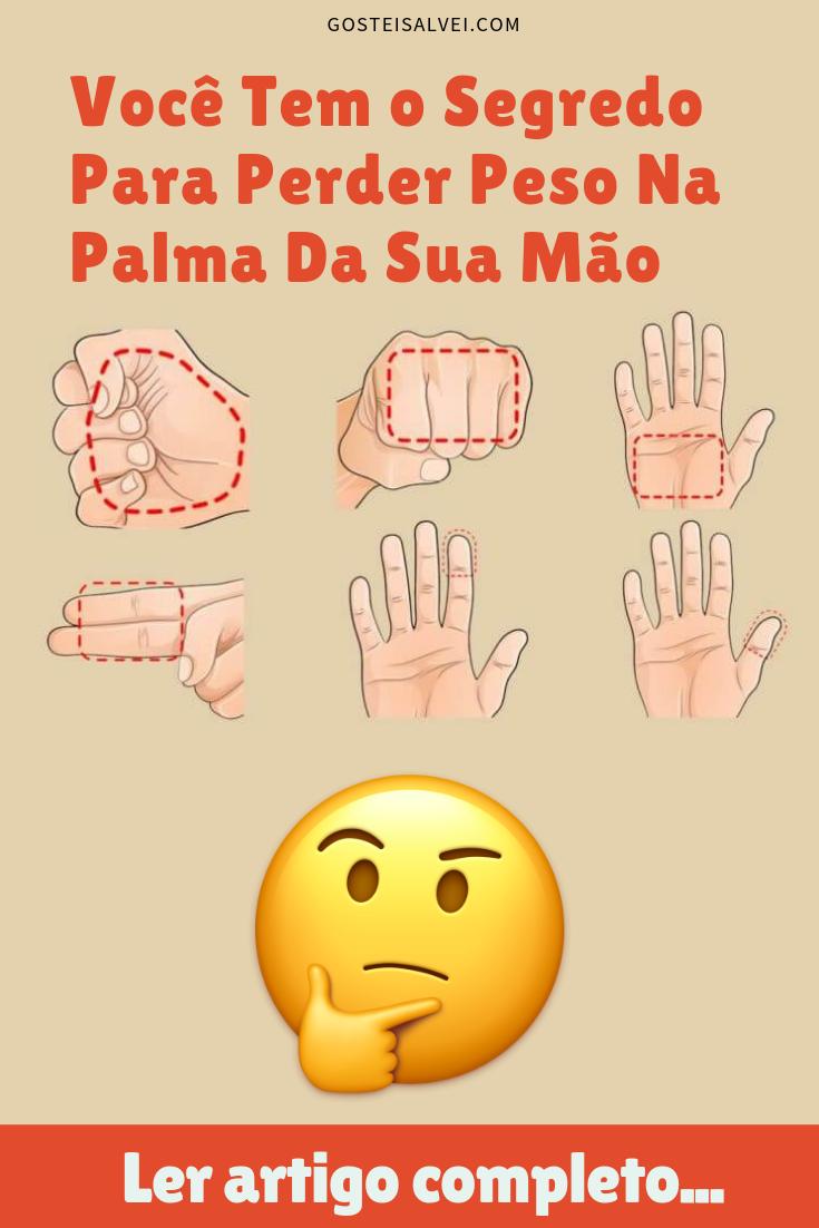 You are currently viewing Você Tem o Segredo Para Perder Peso Na Palma Da Sua Mão