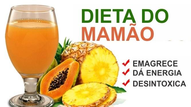 Conheça a Poderosa Dieta Do Mamão