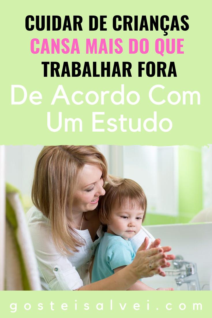 You are currently viewing Cuidar De Crianças Cansa Mais Do Que Trabalhar Fora De Acordo Com Um Estudo