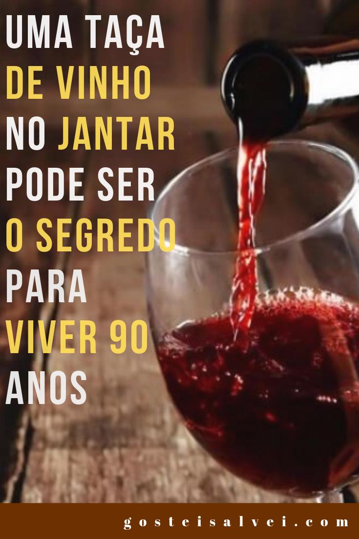 You are currently viewing Uma Taça De Vinho No Jantar Pode Ser o Segredo Para Viver 90 Anos