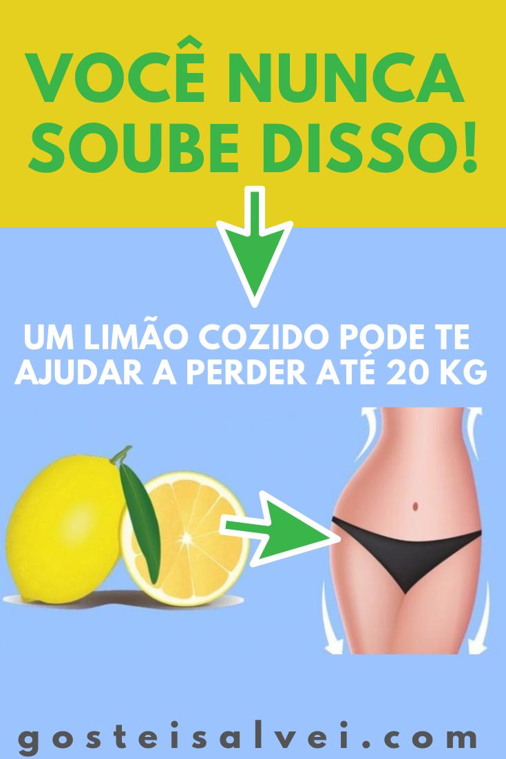 Você Nunca Soube Disso! Um Limão Cozido Pode Te Ajudar a Perder Até 20 kg