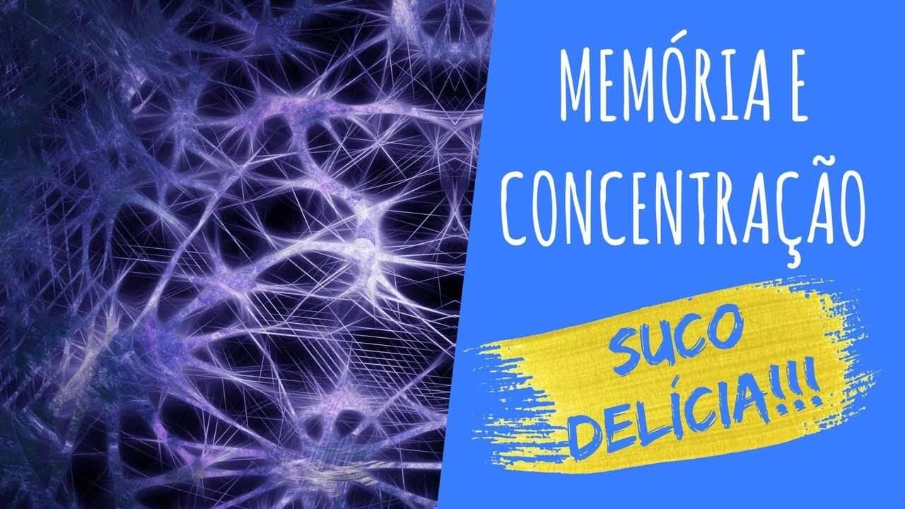 Suco Para Fortalecer a Memória – Ideal Para Tomar Antes de Provas e Concursos