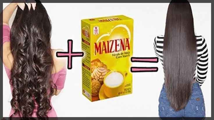 Alisar o Cabelo Usando Amido de Milho é Fácil e Realmente Funciona – Confira Passo a Passo