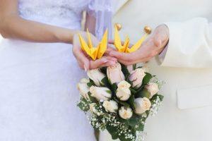 Tendência: Origami e papel para decoração de casamento