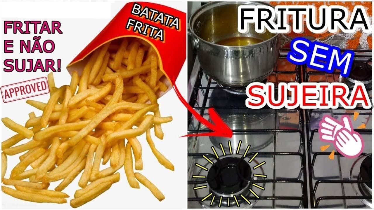 O melhor truque de todos: Aprenda a fritar sem sujar o fogão