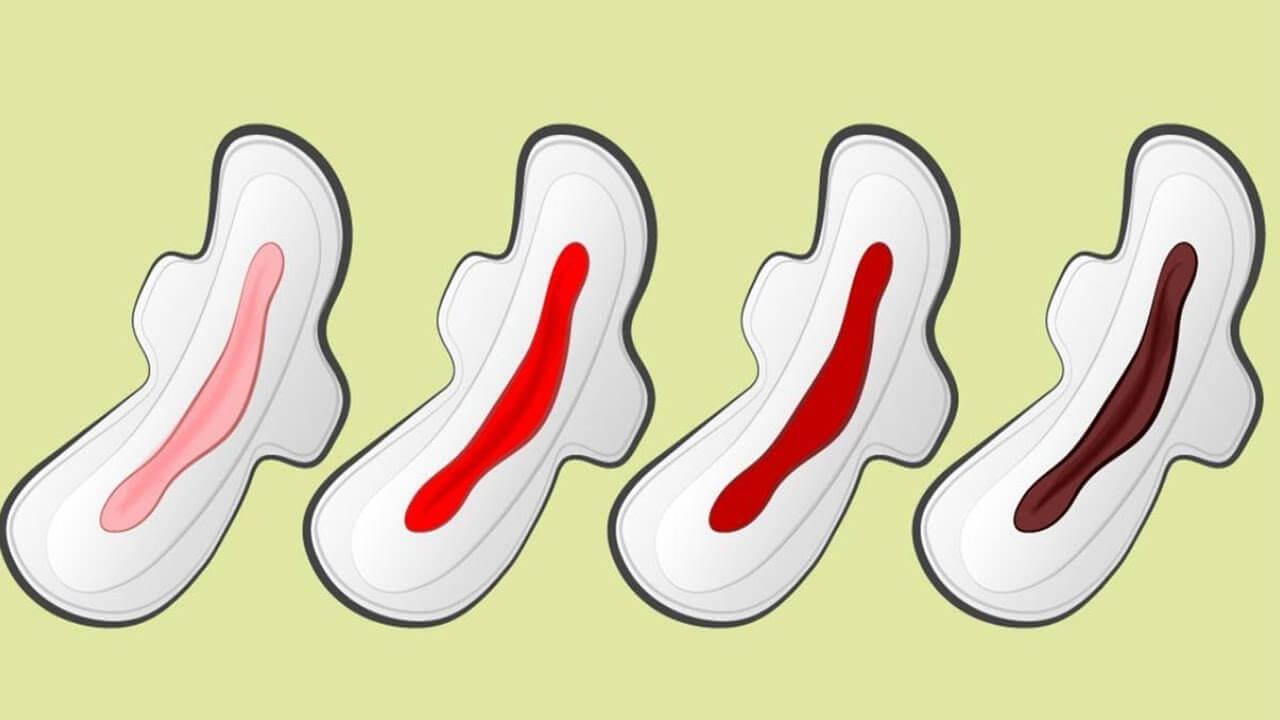 Fique alerta: A Cor Da Sua Menstruação Pode Indicar Sérios Problemas De Saúde