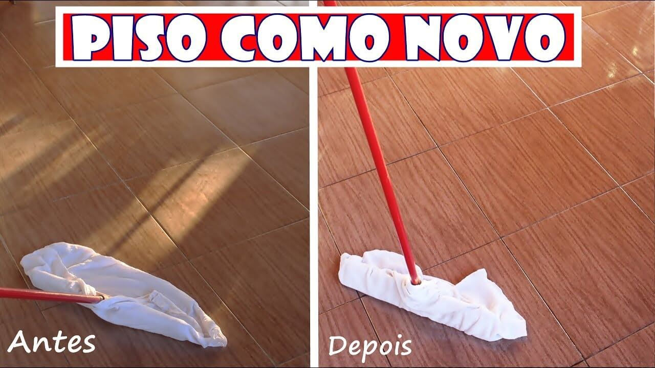 Aprenda a Limpar o Piso e Deixar Brilhando Como Novo