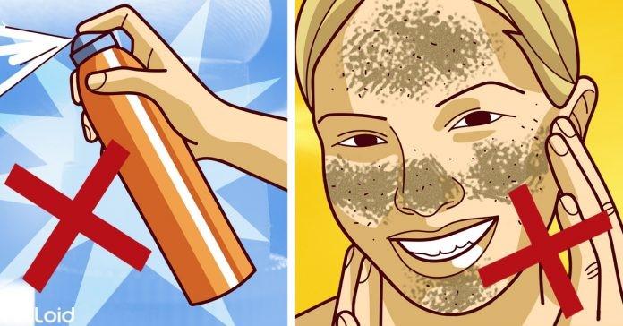 5 Coisas que fazemos diariamente em nossa pele que os dermatologistas JAMAIS fariam