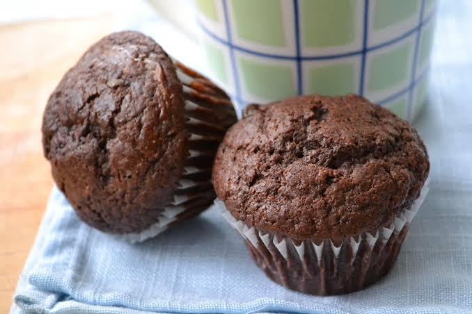 Receita de Muffin de Cacau e Aveia Fit