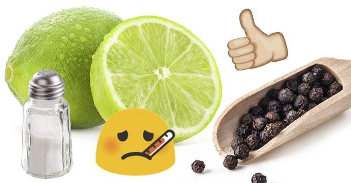 Os inúmeros benefícios de tomar água com limão, pimenta e sal