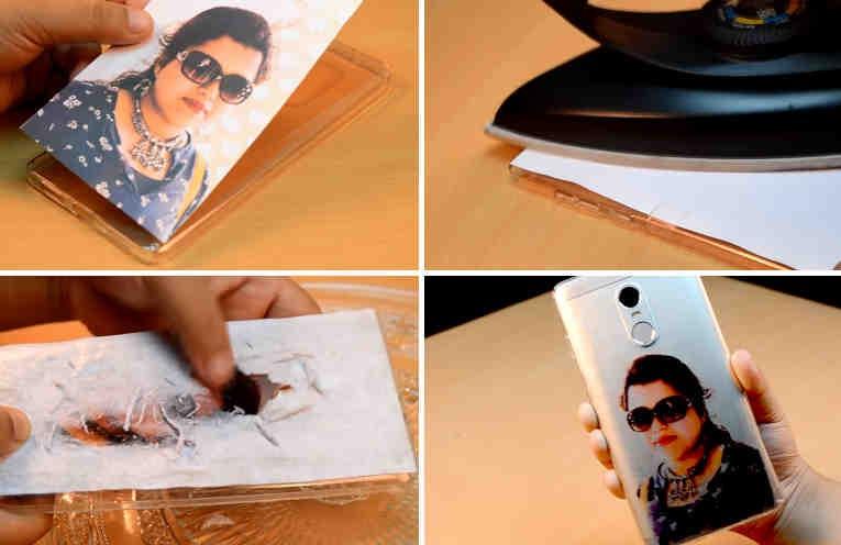 Faça sua própria capinha de celular personalizada – Você só precisa de uma foto e um ferro de passar