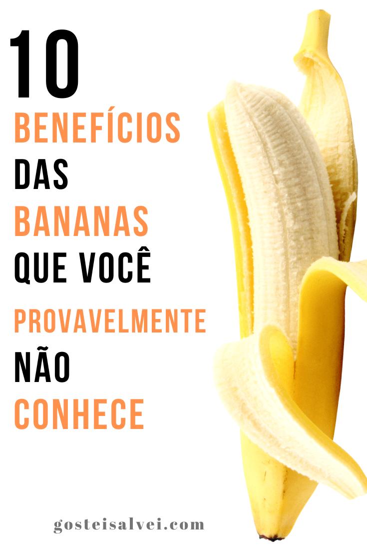 10 Benefícios das bananas que você provavelmente não conhece