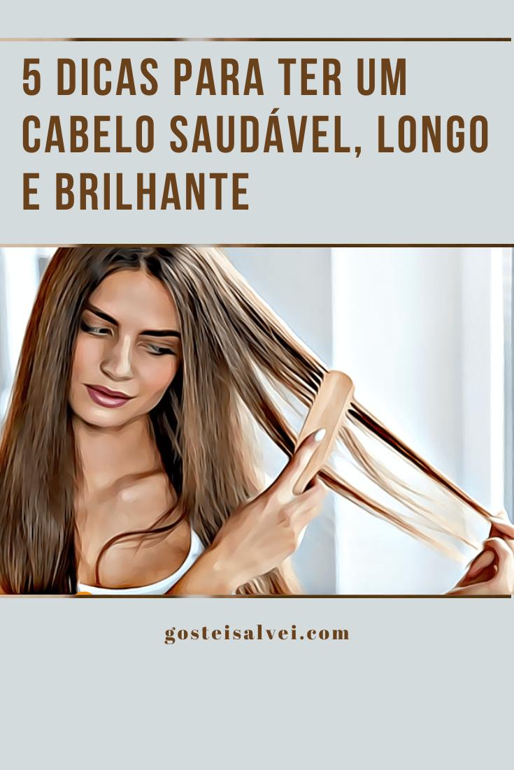 5 Dicas para ter um cabelo saudável, longo e brilhante