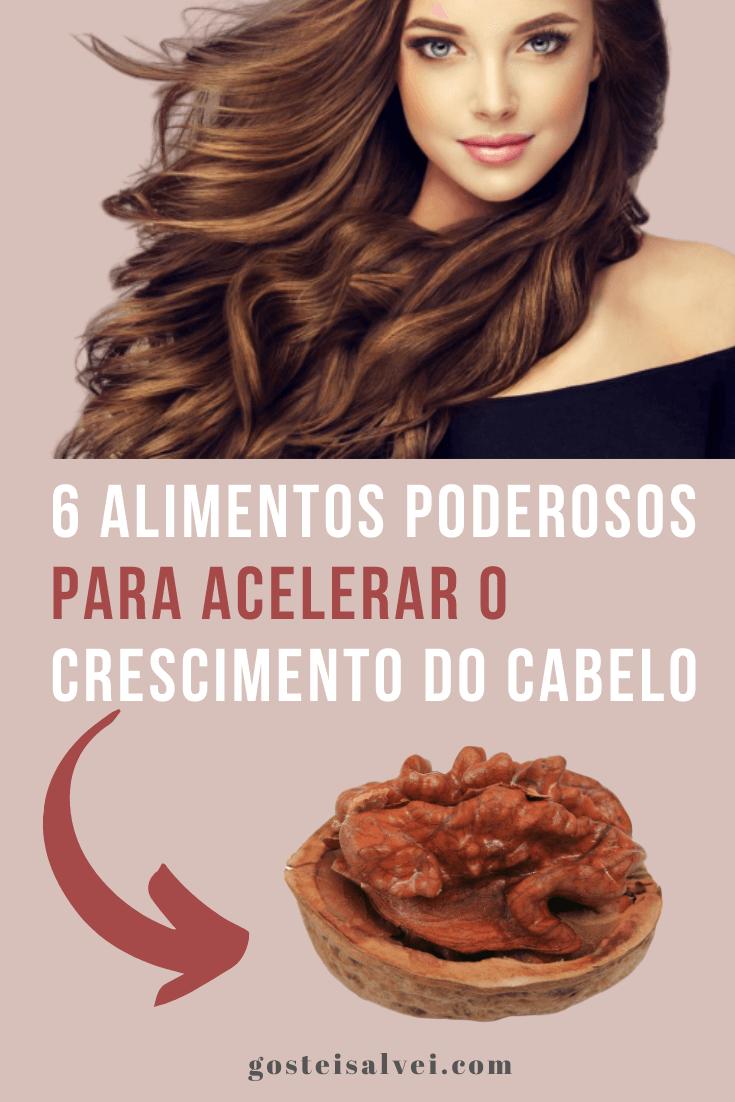 6 Alimentos poderosos para acelerar o crescimento do cabelo