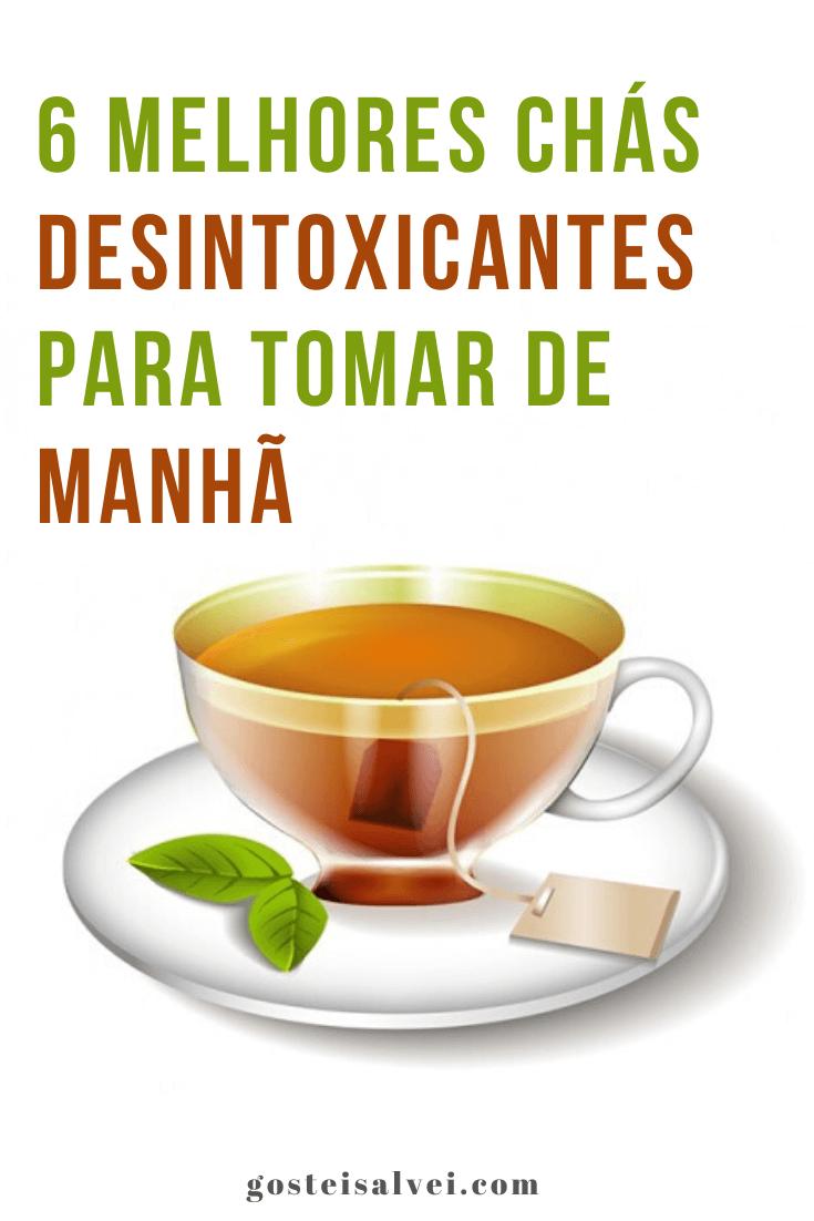 6 Melhores chás desintoxicantes para tomar de manhã