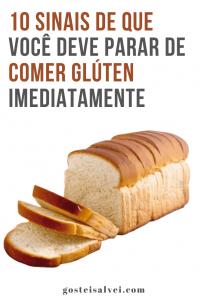 Read more about the article 10 Sinais de que você deve parar de comer glúten imediatamente