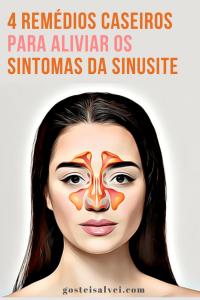 4 Remédios Caseiros Para Aliviar Os Sintomas Da Sinusite