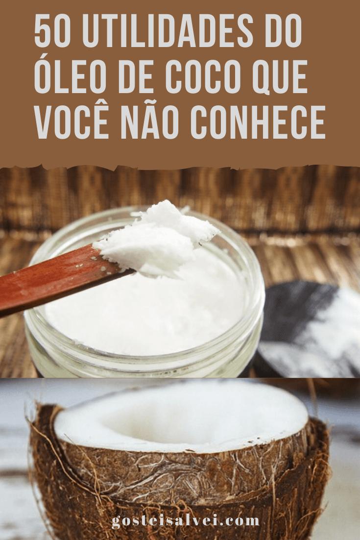 50 Utilidades do óleo de coco que você não conhece