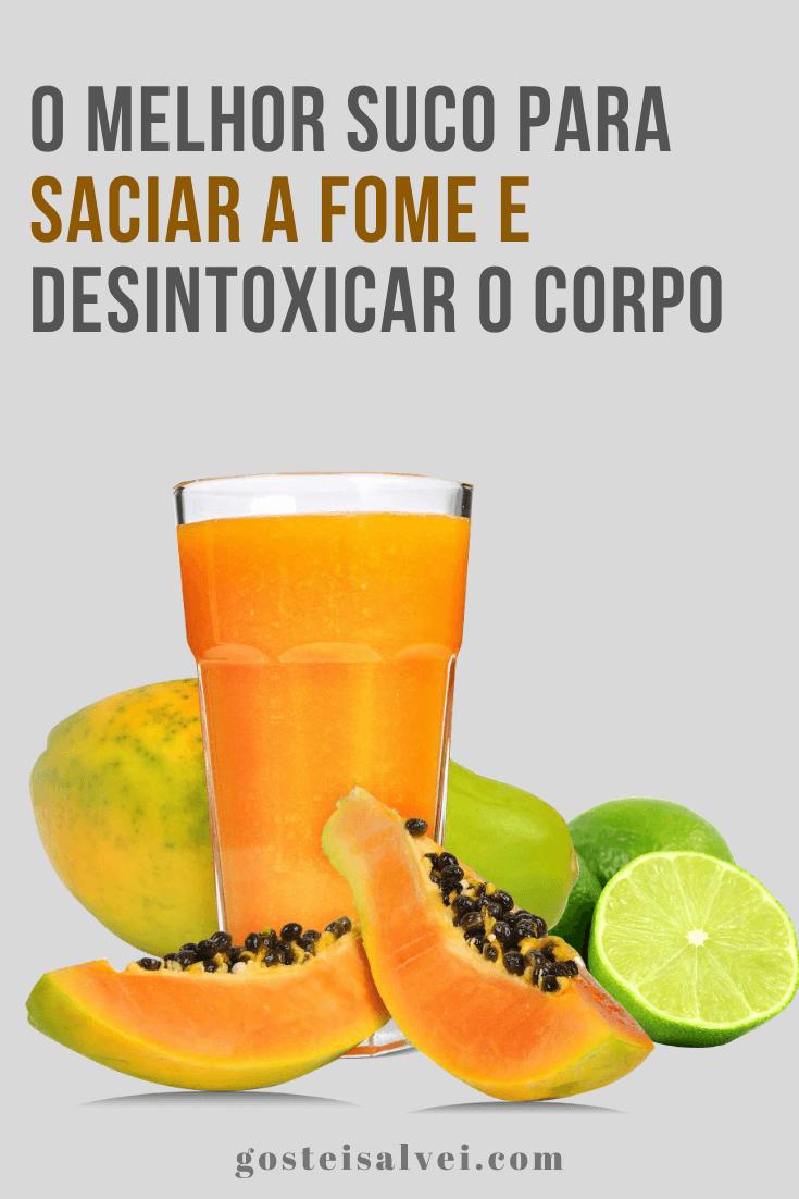 You are currently viewing O melhor suco para saciar a fome e desintoxicar o corpo
