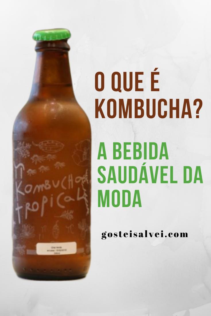 O que é kombucha? A bebida saudável da moda