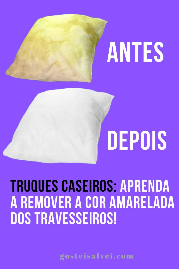 You are currently viewing Truques caseiros: Aprenda a remover a cor amarelada dos travesseiros!