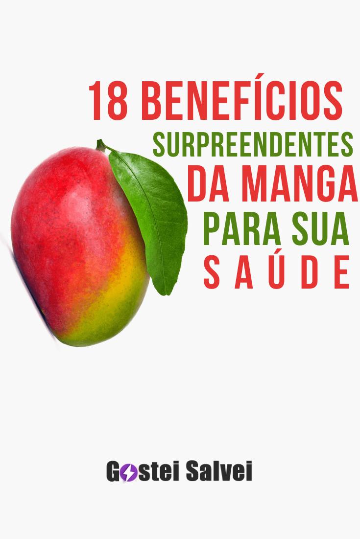 18 Benefícios surpreendentes da manga para a sua saúde
