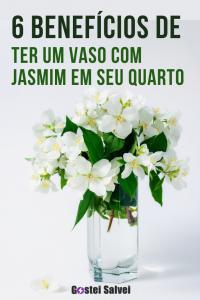 6 Benefícios de ter um vaso com jasmim em seu quarto