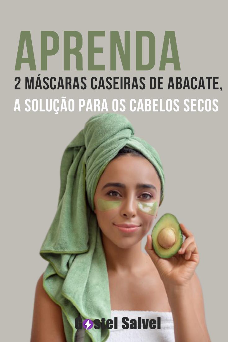 You are currently viewing Aprenda 2 Máscaras caseiras de abacate, a solução para os cabelos secos