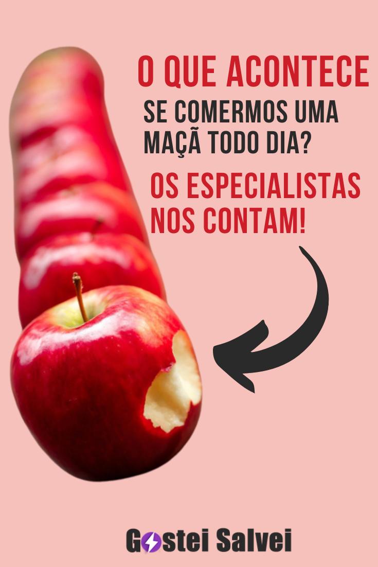 You are currently viewing O que acontece se comermos uma maçã todo dia? Os especialistas nos contam!