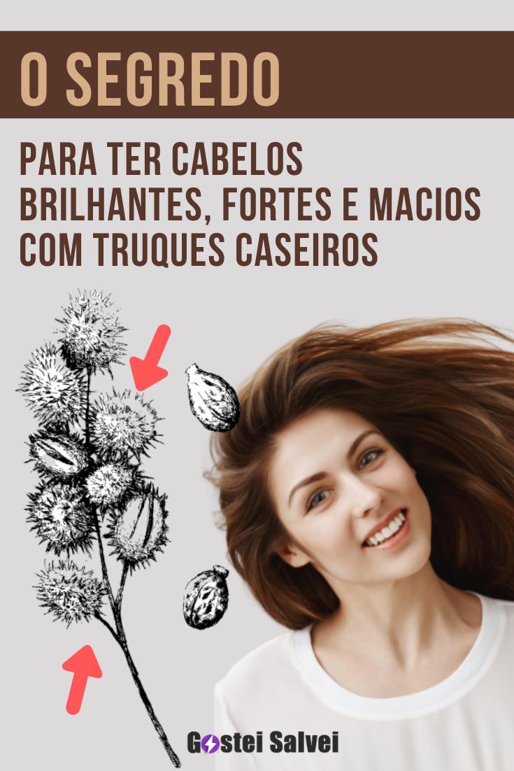 O segredo para ter cabelos brilhantes, fortes e macios com truques caseiros