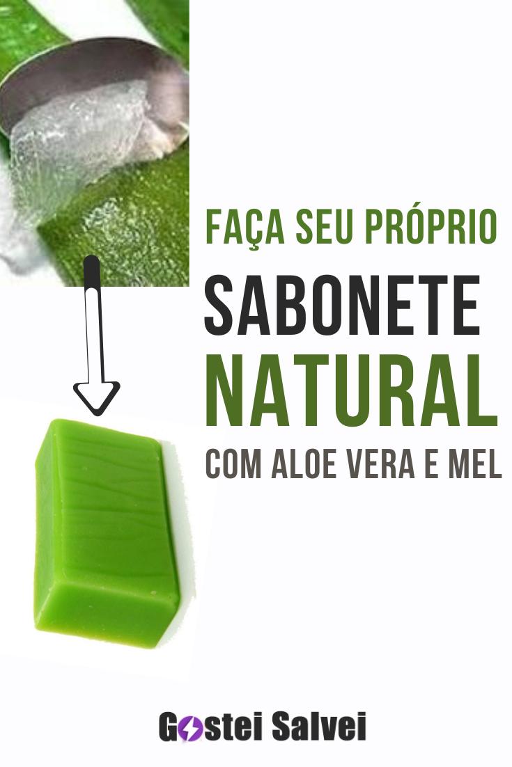 Faça seu próprio sabonete natural com aloe vera e mel