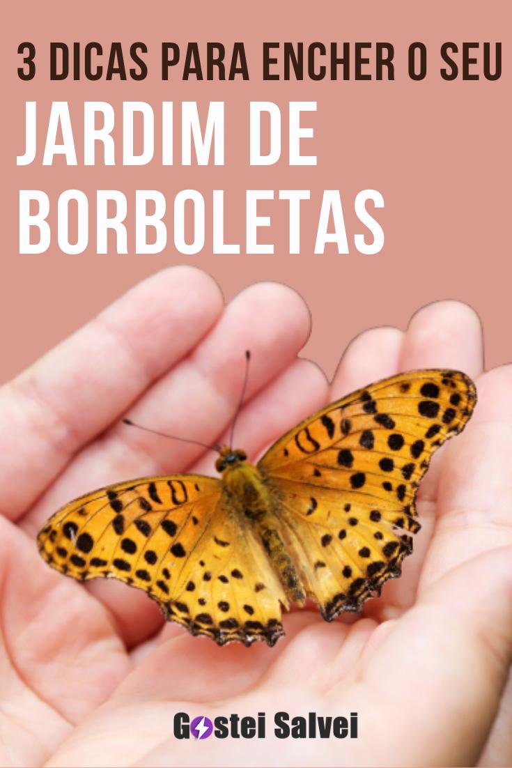 3 Dicas para encher o seu jardim de borboletas